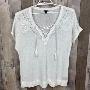 3/$25🛍️ Torrid Women's Short Sleeve Knit Sweater